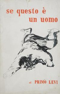 prima edizione dell'opera di Primo Levi edita nel 1947 da Francesco De Silva